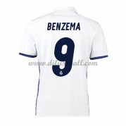 Neues Real Madrid 2016-17 Fussball Trikot Benzema 9 Kurzarm Heimtrikot Shop..