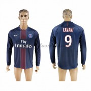 Neues Paris Saint Germain Psg 2016-17 Fussball Trikot Cavani 9 Langarm Heimtrikot Shop..