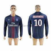 Neues Paris Saint Germain Psg 2016-17 Fussball Trikot Ibrahimovic 10 Langarm Heimtrikot Shop..
