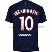 Neues Paris Saint Germain Psg 2016-17 Fussball Trikot Ibrahimovic 10 Kurzarm Heimtrikot Shop..
