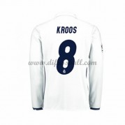 Neues Real Madrid 2016-17 Fussball Trikot Kroos 8 Langarm Heimtrikot Shop..