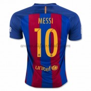 Neues Barcelona 2016-17 Fussball Trikot Messi 10 Kurzarm Heimtrikot Shop..