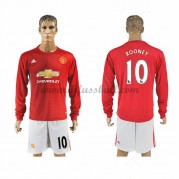 Neues Manchester United 2016-17 Fussball Trikot Rooney 10 Langarm Heimtrikot Shop..