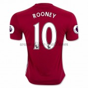 Neues Manchester United 2016-17 Fussball Trikot Rooney 10 Kurzarm Heimtrikot Shop..