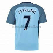 Neues Manchester City 2016-17 Fussball Trikot Sterling 7 Kurzarm Heimtrikot Shop..