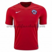 Nationaltrikot Chile 2016 Kurzarm Heim Fußballtrikots..