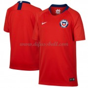 Chile Nationaltrikot 2018 Heim Fußballtrikots Kurzarm..