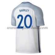 Nationaltrikot England 2016 Ross Barkley 20 Kurzarm Heim Fußballtrikots..