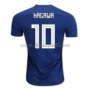 Japan Nationaltrikot 2018 Shinji Kagawa 10 Heim Fußballtrikots Kurzarm