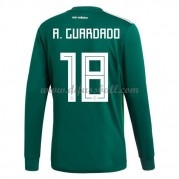 Mexiko Nationaltrikot 2018 Andres Guardado 18 Heim Fußballtrikots Langarm..