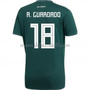 Mexiko Nationaltrikot 2018 Andres Guardado 18 Heim Fußballtrikots Kurzarm..