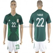 Mexiko Nationaltrikot 2018 Paul Aguilar 22 Heim Fußballtrikots Kurzarm..