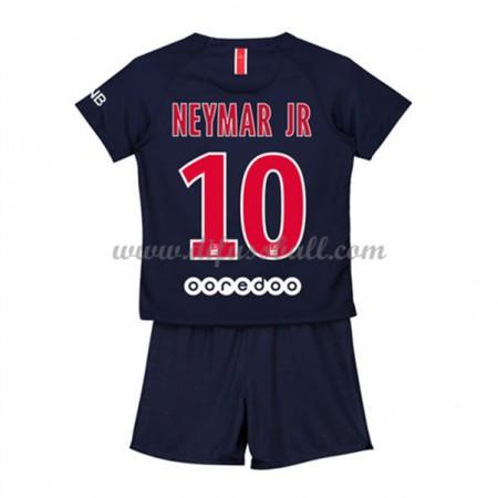 Paris Saint Germain PSG Fußballtrikots Kinder 2018-19 Neymar Jr 10 Heim Trikotsatz Kurzarm