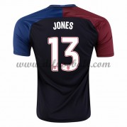 Nationaltrikot USA 2016 Jermaine Jones 13 Kurzarm Auswärts Fußballtrikots..