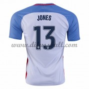 Nationaltrikot USA 2016 Jermaine Jones 13 Kurzarm Heim Fußballtrikots..