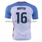 Nationaltrikot USA 2016 Lee Nguyen 16 Kurzarm Heim Fußballtrikots..