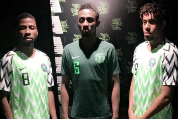 huge discount 06a57 09ae8 Nigeria Nationalmannschaft fussball Trikots für WM 2018 ...