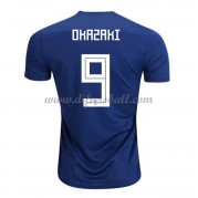 Japan Nationaltrikot 2018 Shinji Okazaki 9 Heim Fußballtrikots Kurzarm..